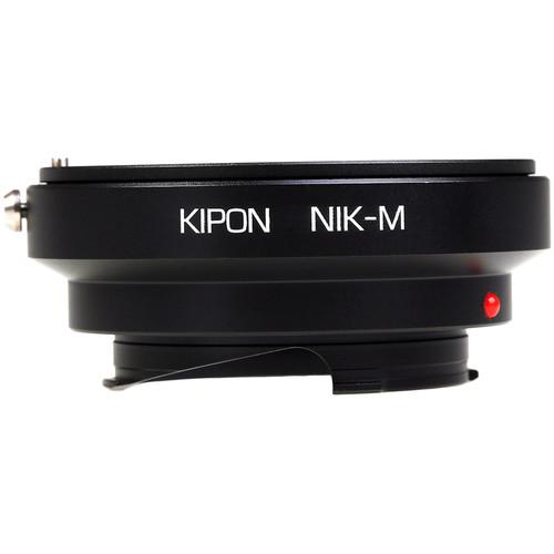KIPON Lens Mount Adapter for Nikon F-Mount Lens to Leica M-Mount Camera