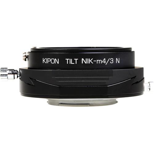 KIPON Tilt Lens Mount Adapter for Nikon F-Mount Lens to Micro Four Thirds Camera