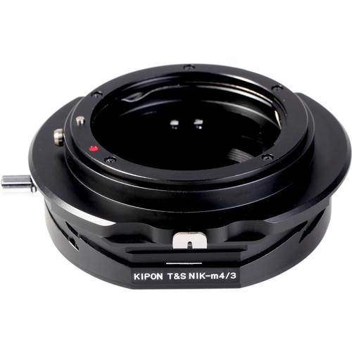 KIPON Tilt / Shift Lens Mount Adapter for Nikon F-Mount Lens to Micro Four Thirds Camera