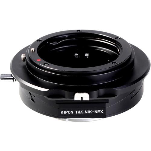 KIPON Tilt/Shift Lens Mount Adapter for Nikon F-Mount Lens to Sony E-Mount Camera