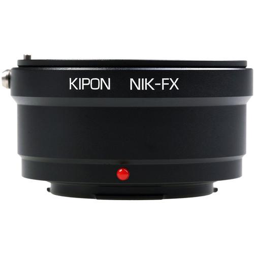 KIPON Lens Mount Adapter for Nikon F Lens to FUJIFILM FX-Mount Camera