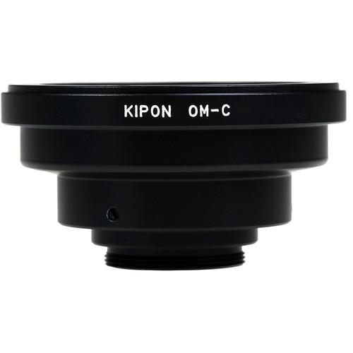 KIPON Lens Mount Adapter for Olympus OM Lens to C-Mount Camera