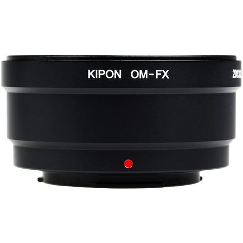 KIPON Lens Mount Adapter for Olympus OM Lens to FUJIFILM FX-Mount Camera