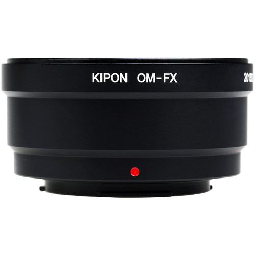 KIPON Lens Mount Adapter for Olympus OM Lens to FUJIFILM FX-Mount Camera