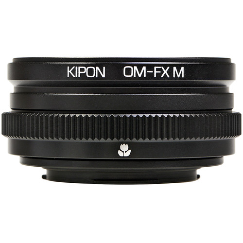 KIPON Lens Mount Adapter for Olympus OM Lens to FUJIFILM FX-Mount Camera with Helicoid