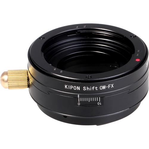 KIPON Shift Lens Adapter for Olympus OM Lens to FUJIFILM FX Camera