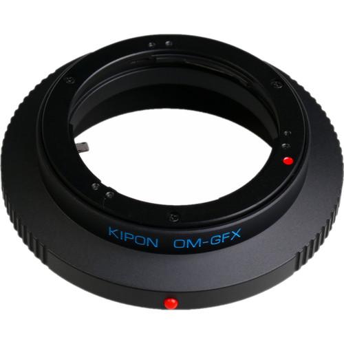 KIPON Lens Adapter for Olympus OM Lens to FUJIFILM G-Mount Camera
