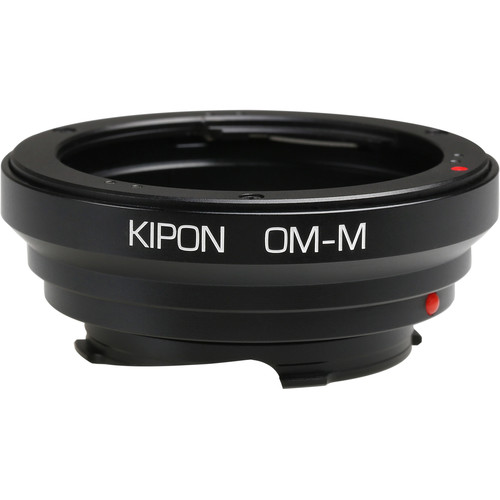 KIPON Lens Mount Adapter for Olympus OM-Mount Lens to Leica M-Mount Camera