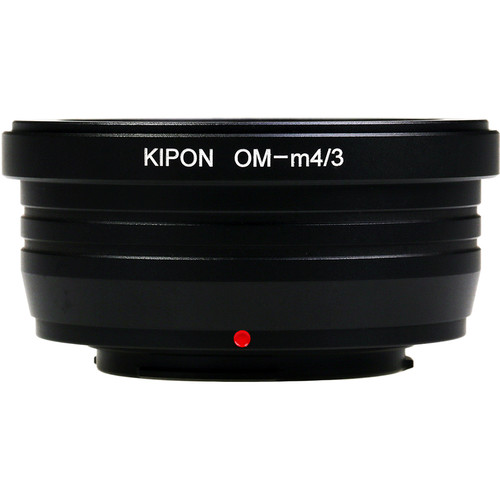 KIPON Lens Mount Adapter for Olympus OM-Mount Lens to Micro Four Thirds-Mount Camera