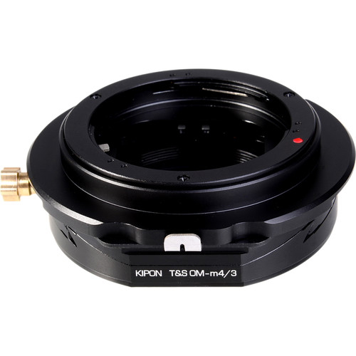 KIPON Tilt / Shift Lens Mount Adapter for Olympus OM-Mount Lens to Micro Four Thirds Camera