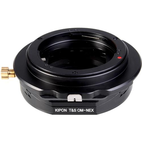 KIPON Tilt/Shift Lens Mount Adapter for Olympus OM Lens to Sony E-Mount Camera