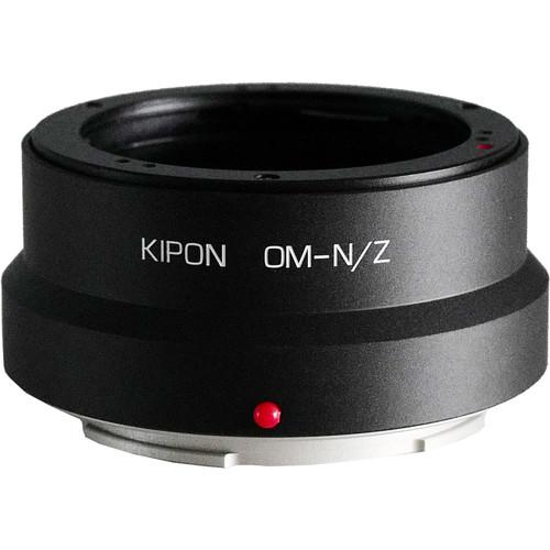 KIPON Lens Mount Adapter for Olympus OM-Mount Lens to Nikon Z-Mount Camera