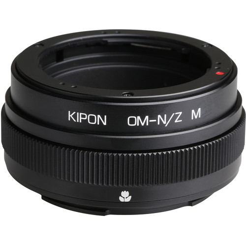 KIPON Lens Mount Adapter for Olympus OM-Mount Lens with Helicoid to Nikon Z-Mount Camera