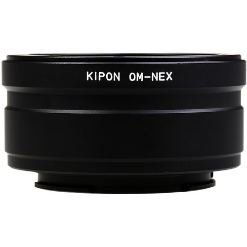 KIPON Lens Mount Adapter for Olympus OM-Mount Lens to Sony-E Mount Camera