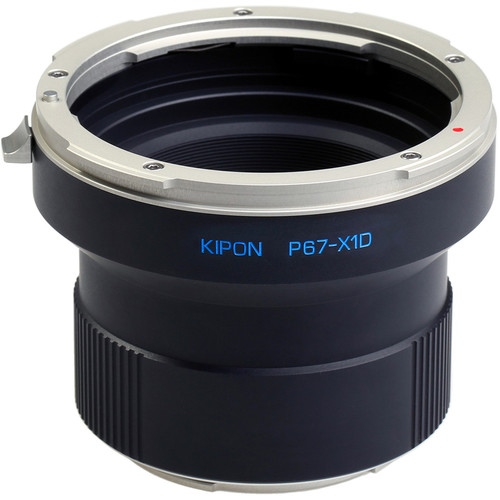KIPON Lens Mount Adapter for Pentax 67 Lens to Hasselblad X-Mount Camera