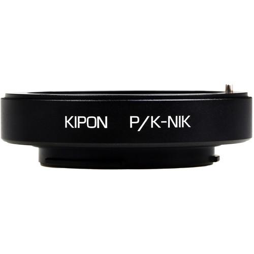 KIPON Lens Mount Adapter for Pentax K-Mount Lens to Nikon F-Mount Camera