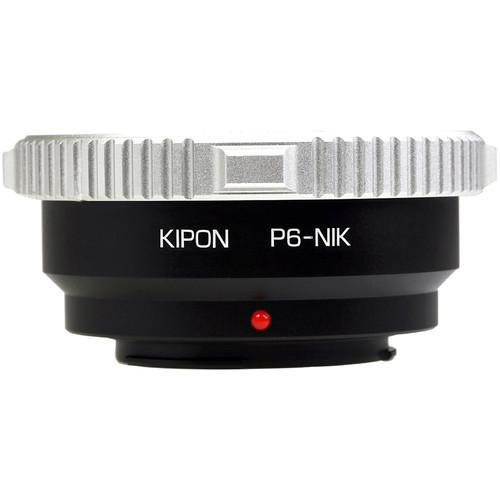 KIPON Lens Mount Adapter for Pentacon Six Lens to Nikon F-Mount Camera