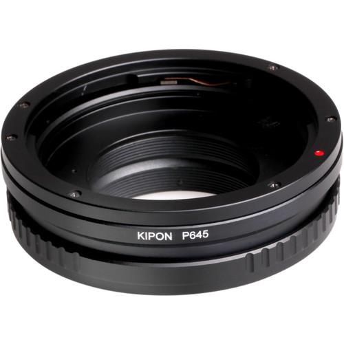KIPON Lens Mount Adapter for Pentax 645 Lens to Nikon F-Mount Camera
