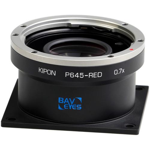 KIPON Pentax 645 to Red 0.7X Adapter