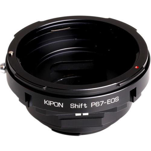 KIPON Shift Lens Mount Adapter for Pentax 67 Lens to Canon EF-Mount Camera