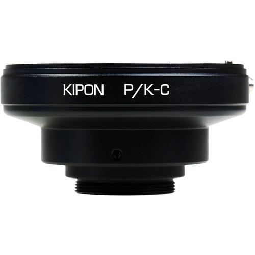 KIPON Lens Mount Adapter for Pentax K Lens to C-Mount Camera