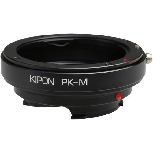 KIPON Lens Mount Adapter for Pentax K-Mount Lens to Leica M-Mount Camera
