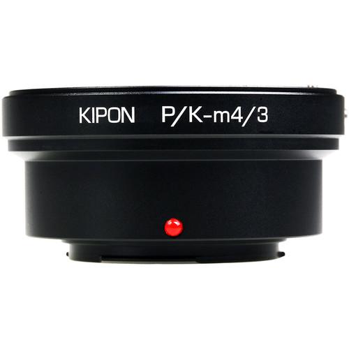 KIPON Lens Mount Adapter for Pentax K-Mount Lens to Micro Four Thirds-Mount Camera