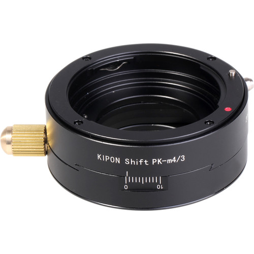 KIPON Shift Lens Mount Adapter for Pentax K-Mount Lens to Micro Four Thirds Camera