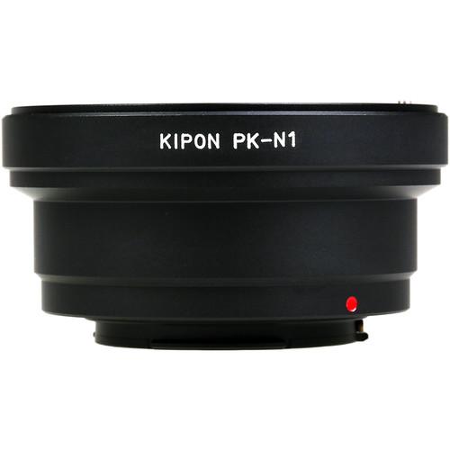 KIPON Lens Mount Adapter for Pentax K-Mount Lens to Nikon N1-Mount Camera