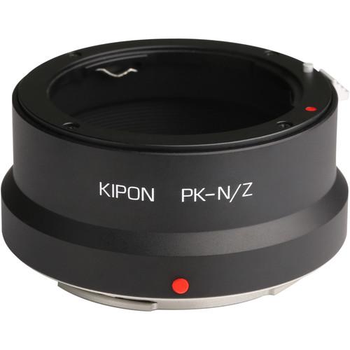 KIPON Lens Mount Adapter for Pentax K-Mount Lens to Nikon Z-Mount Camera