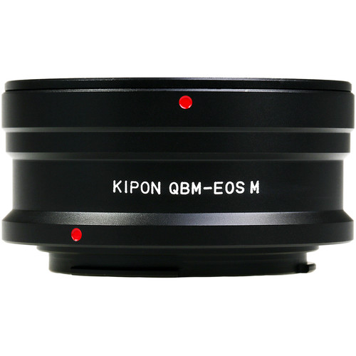 KIPON Lens Mount Adapter for Rolleiflex Quick-Bayonet Mount Lens to Canon EF-M Mount Camera