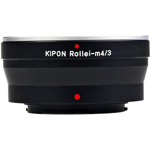 KIPON Lens Mount Adapter for Rolleiflex Quick-Bayonet Mount Lens to Micro Four Thirds-Mount Camera