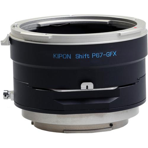 KIPON Shift Lens Mount Adapter for Pentax 6x7 Lens to FUJIFILM G-Mount Camera
