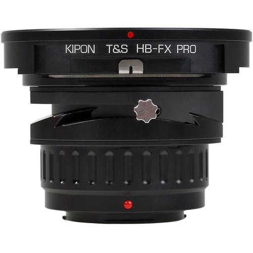 KIPON Tilt/Shift Lens Mount Adapter for Hasselblad V Lens to FUJIFILM X Camera