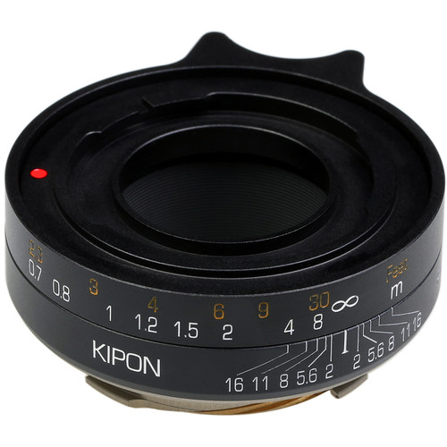 KIPON Lens Mount Adapter for Voigtlander Prominent-Mount Lens to Leica M-Mount Camera (Black)