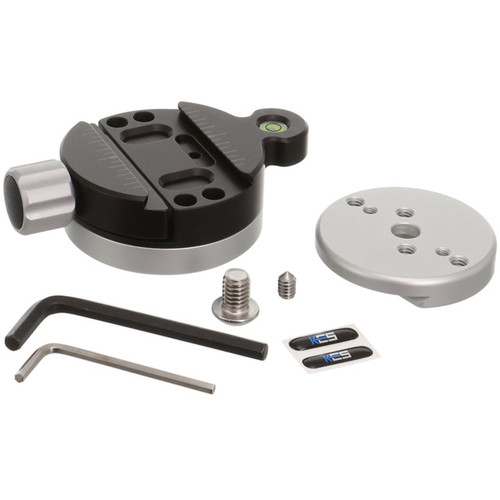 Kirk TQR-2L Tripod Head Quick Disconnect System with Large Plate