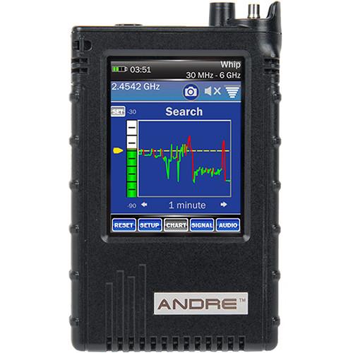 KJB Security Products ANDRE Basic Handheld Broadband Receiver