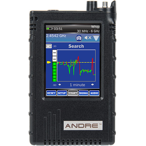 KJB Security Products ANDRE Basic Handheld Broadband Receiver