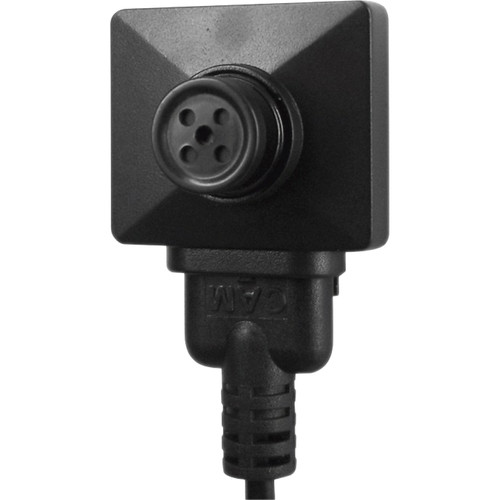KJB Security Products Button with 2MP Covert Camera With Audio