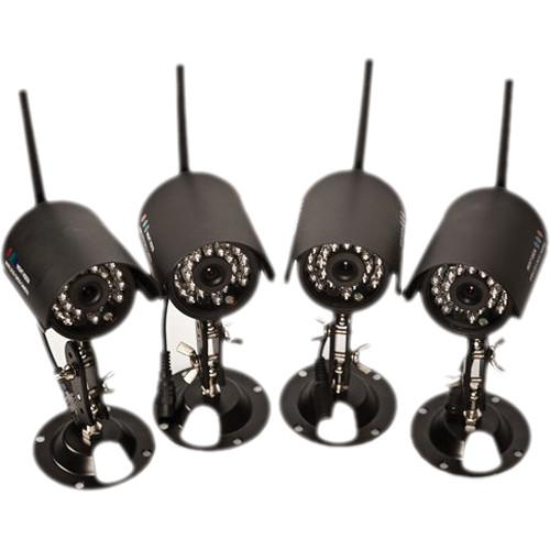 KJB Security Products C1195 Wireless Security Surveillance Kit