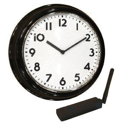 KJB Security Products C12427 SleuthGear Wall Clock Covert Color Camera (NTSC)
