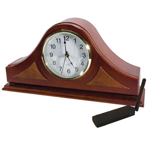 KJB Security Products C12437 SleuthGear Mantel Clock Covert Color Camera (NTSC)