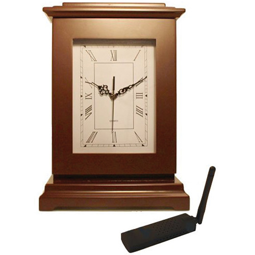 KJB Security Products C12847 SleuthGear Rectangle Clock Covert Camera (NTSC)