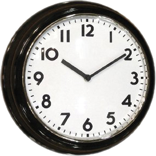 KJB Security Products C1300C Covert Hardwired Wall Clock Color Camera (NTSC)
