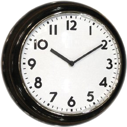 KJB Security Products C1512 SleuthGear Wall Clock Camera
