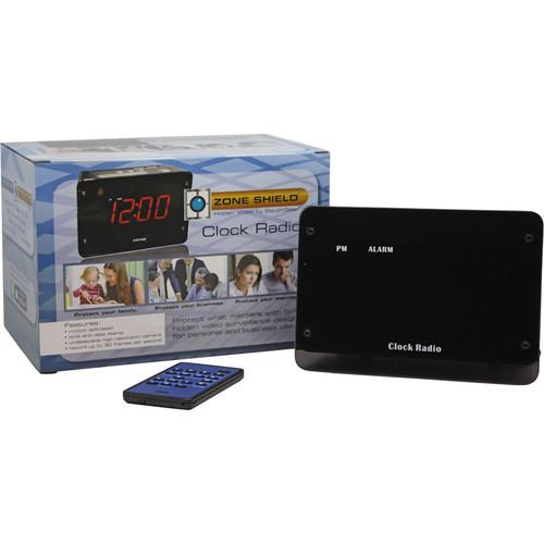 KJB Security Products C1522 SleuthGear IR Alarm Clock Camera