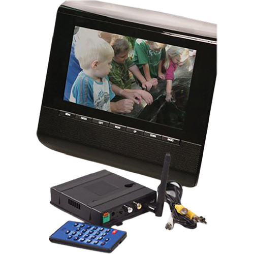 KJB Security Products C1551 Zone Shield Digital Picture Frame Camera with QUAD Receiver
