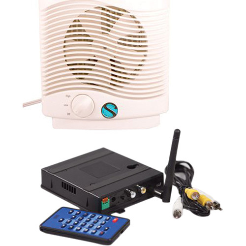 KJB Security Products C1561 Zone Shield Air Purifier Covert Camera with QUAD Receiver