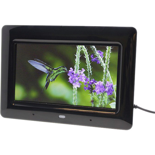 KJB Security Products Zone Shield EZ Digital Picture Frame with 720p Covert Camera