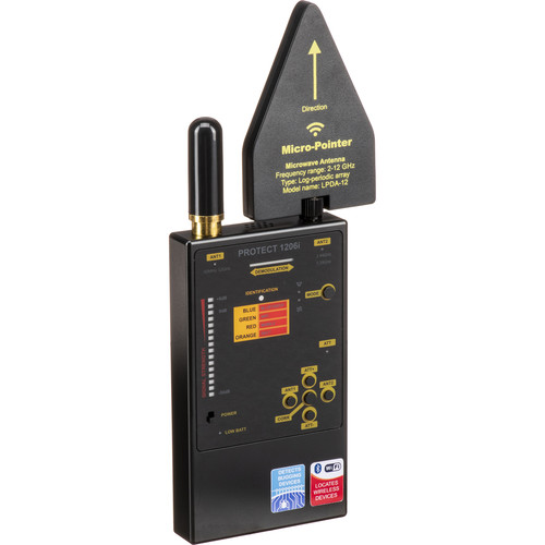 KJB Security Products RF Wireless Signal Detector